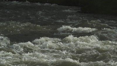 Gardner River during spring runoff