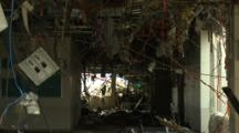 Japan Tsunami Aftermath - Remains Of Destroyed Hospital In Rikuzentakata City