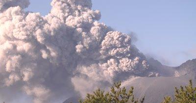 Volcano Eruption Spews Ash Cloud Into Air