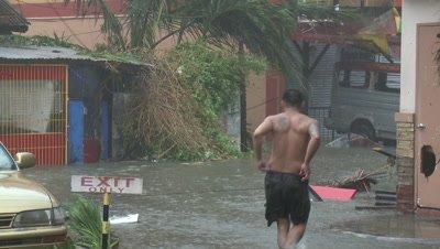 Storm Surge Flooding In Tacloban Typhoon Haiyan