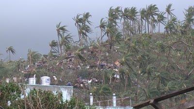 Extreme Hurricane Wind Damage Tacloban Typhoon Haiyan