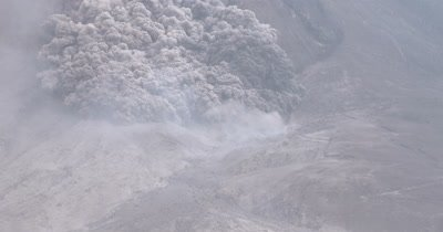 Amazing Pyroclastic Flow Volcanic Eruption