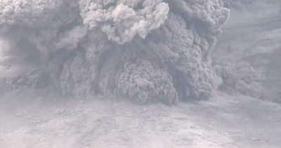 Volcano Pyroclastic Flow Ash Amazing Pyroclastic Flow During Volcanic Eruption