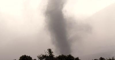 Volcano Dust Devil Whirlwind Tornado Vortex