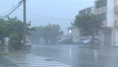 Extreme Wind And Rain In Hurricane Eyewall
