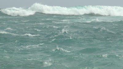 Stormy Seas As Hurricane Nears Coast