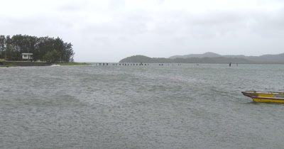 Fishing Boat Sails Home As Hurricane Nears