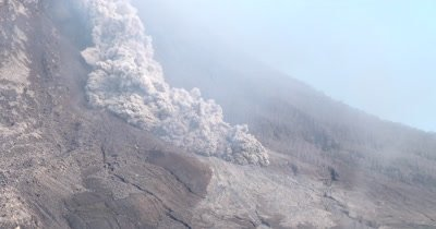 Fast And Deadly Pyroclastic Flow Roars Down Volcano