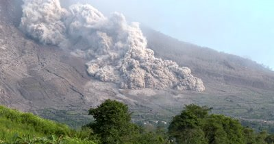 Deadly Pyroclastic Flow Sweeps Down Volcano During Eruption