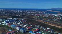 Aerial Over Reykjavik