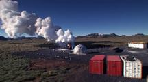 Aerial Geothermal Power Plant