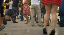 People Dance, View Of Legs