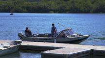 Recreational Fishing Boat Docking