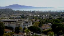 Overlook View Of Santa Barbara And Coast From Clock Tower