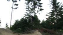 Biker Hits Kicker From Side