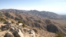 Panoramic View Of Joshua Tree National Park