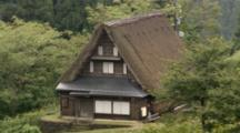 Thatched Roof House In Toyama, Japan