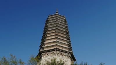 Ancient Pagoda, Yi County, Liaoning, China