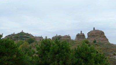 Eight Pagoda Mountains, Yi County, Liaoning, China