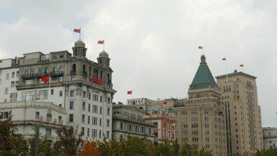 Building on the Shanghai Bund, China