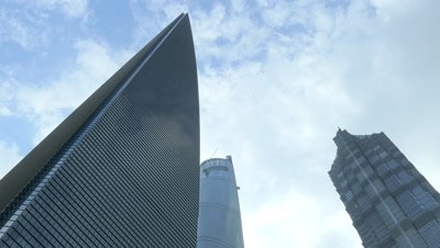 High-rise Building in the Pudong New Area, Shanghai, China