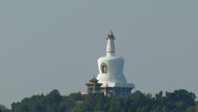 White Tower of Beihai Park, Beijing, China