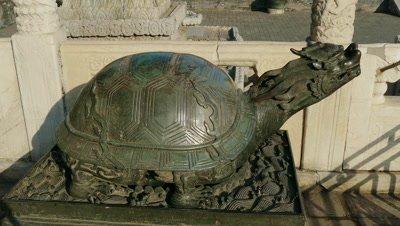 Tortoise Sculpture of Hall of Supreme Harmony, Beijing, China
