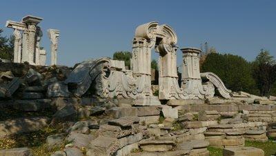 Ruins of Yuanmingyuan, Beijing, China