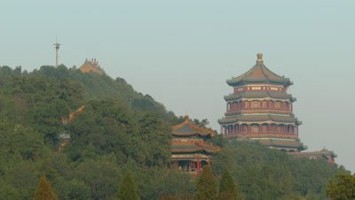 Tower of Buddhist Incense in the Summer Palace, Beijing, China