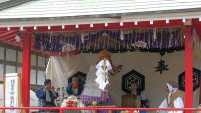 Sarutahiko Okami Ritual Dance, Chiba, Japan