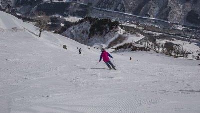 Naeba Ski Resort, Minamiuonuma, Niigata, Japan