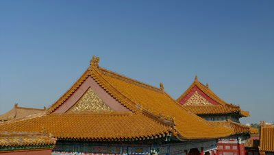 The Roof of the Hall of Supreme Harmony against the Sky