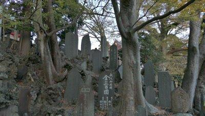 Stele of Shinshoji Temple, Narita, Chiba, Japan