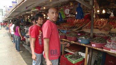 Fish Market in Manila, Philippines