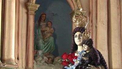 Interior of San Agustin Church, Paoay, Philipines