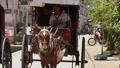 Horse-drawn Carriage Rides, Vigan, Philipines