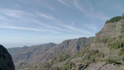 Rock Agand in Tenerife, Spain
