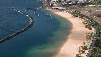 Playa de Las Teresitas, Tenerife, Spain