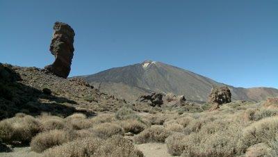Teide National Park in Tenerife, Spain