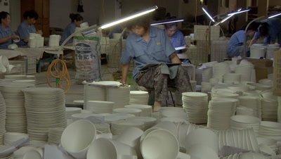 Ceramic Factory in Pingding, Yangquan, Shanxi, China