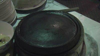 Pan-frying Flattened Dough, Changzhi, Shanxi, China