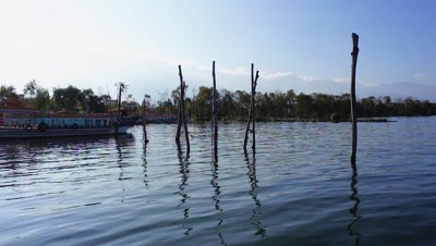 Twigs Stuck in the Water, Dali, Yunnan, China