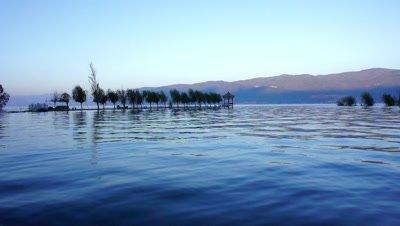 Beautiful Lake in Dali, Yunnan, China