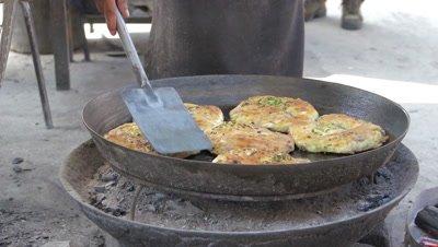 Baked Dough with Filling, Dali, Yunnan, China
