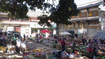 Market in Dali, Yunnan, China