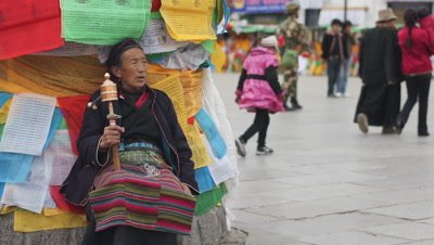 Prayer Flag in Lhasa, Tibet