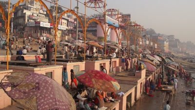 Varanasi and Ganges River, India
