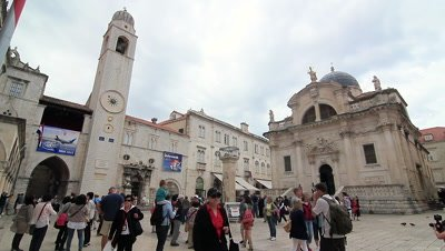 St Blaise Church and Bell Tower in Dubrovnik, Croatia