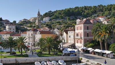 City View of Hvar, Croatia