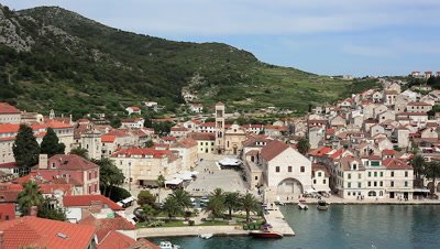 Town of Hvar in Croatia